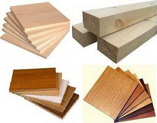 Используемые материалы для производства мебели